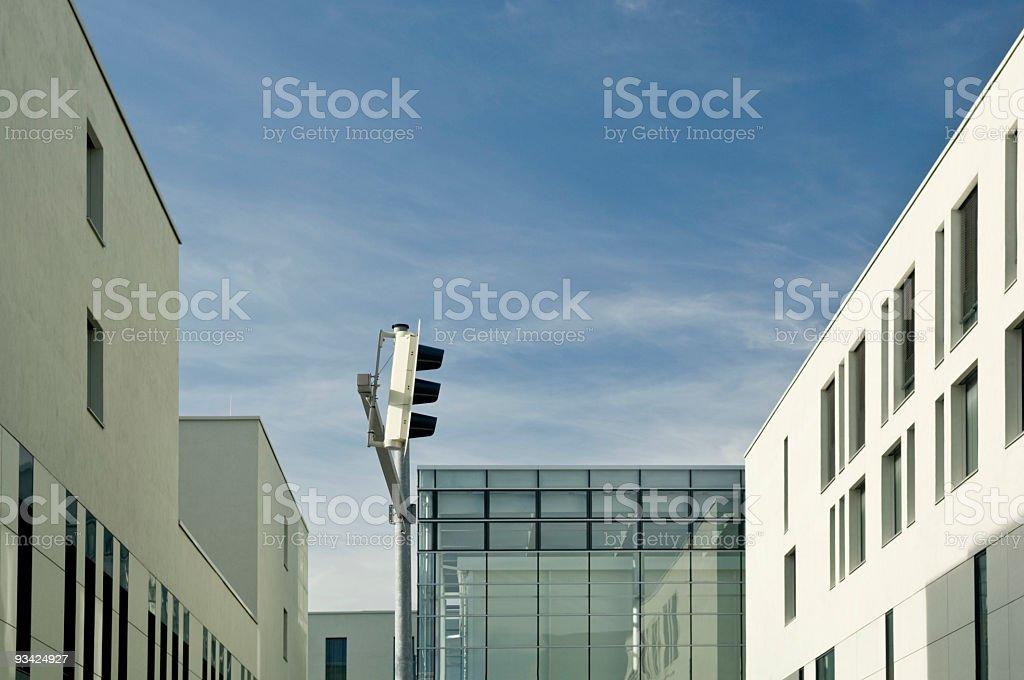 Empty City Architecture royalty-free stock photo