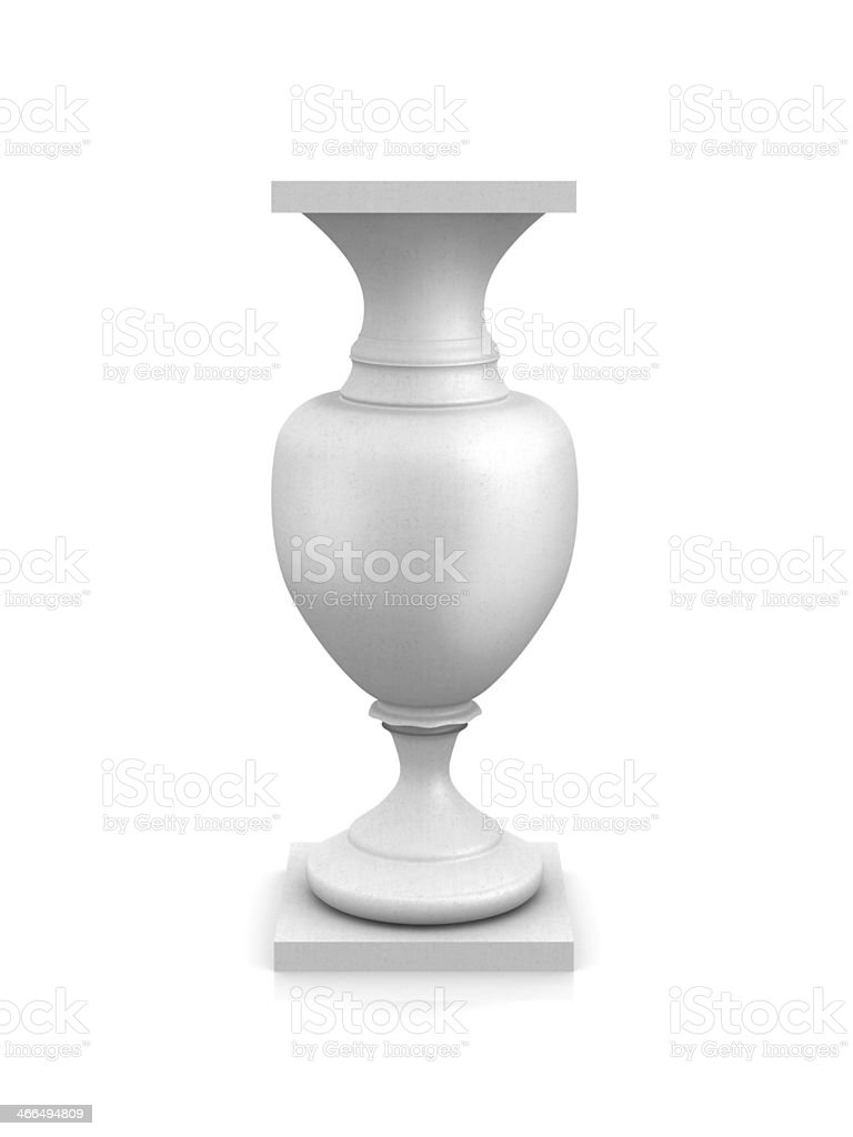 Empty classical pedestal royalty-free stock photo