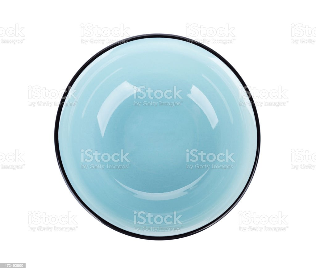 Empty clean plate stock photo