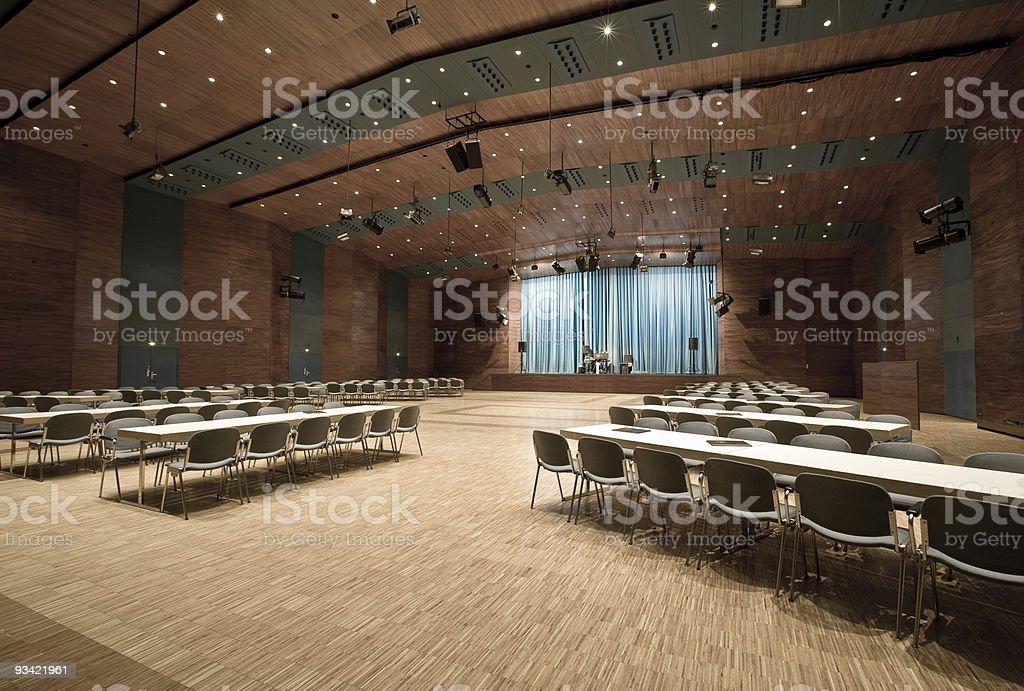 empty concert hall royalty-free stock photo