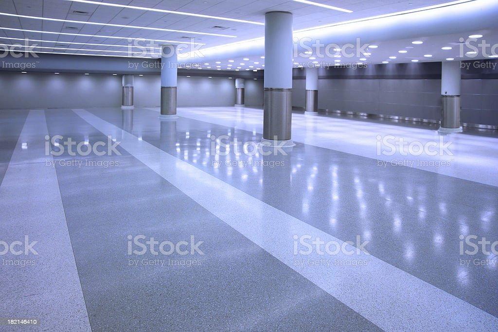empty concourse stock photo