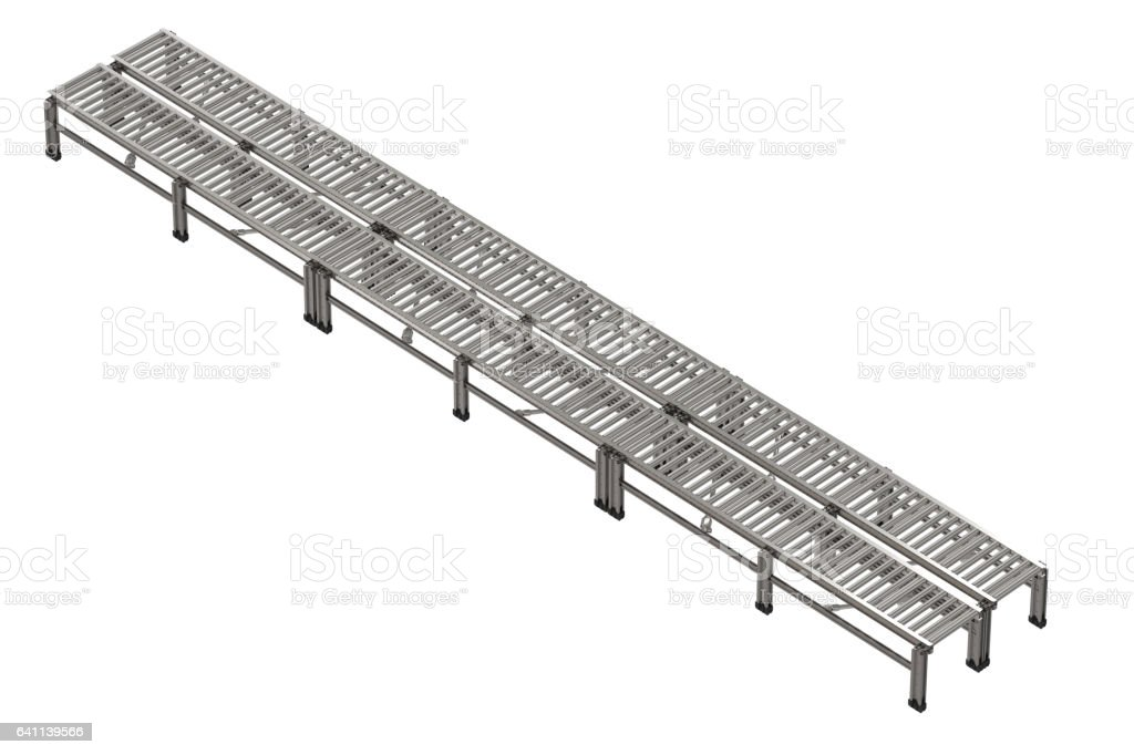 empty conveyor belt stock photo