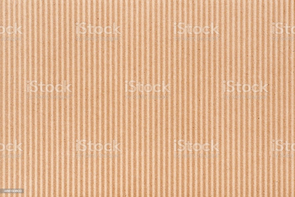 Empty corrugated brown cardboard. stock photo