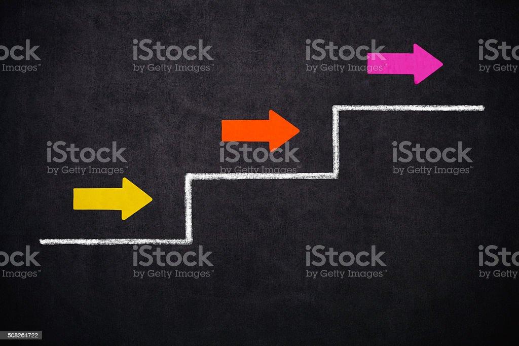 Empty Diagram stock photo