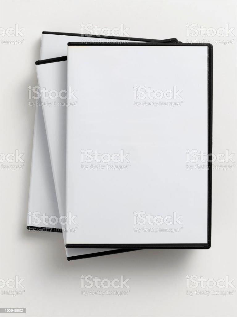 empty DVD case stock photo