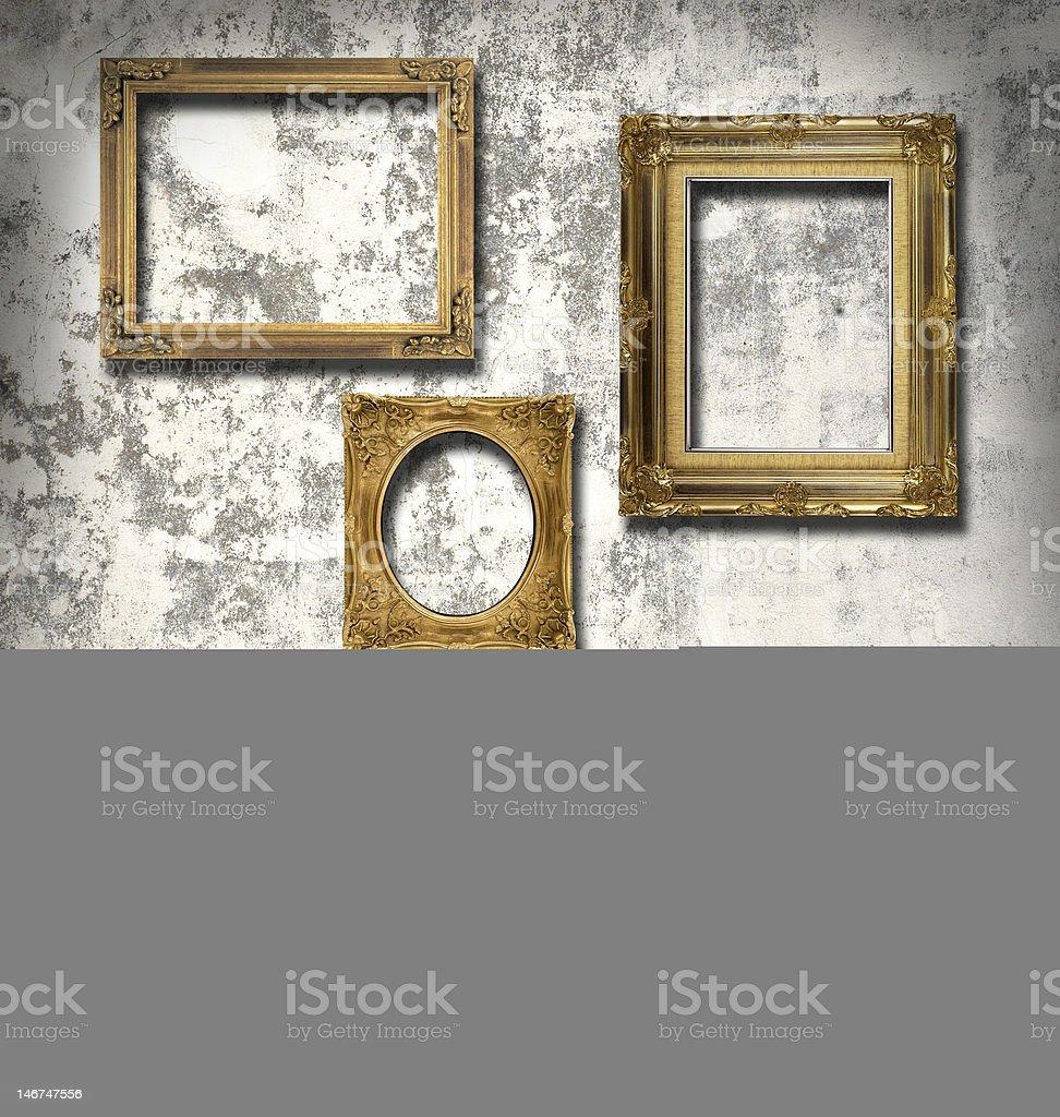 Marcos vacíos de foto de stock libre de derechos