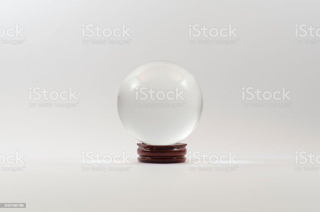 Empty Globe stock photo