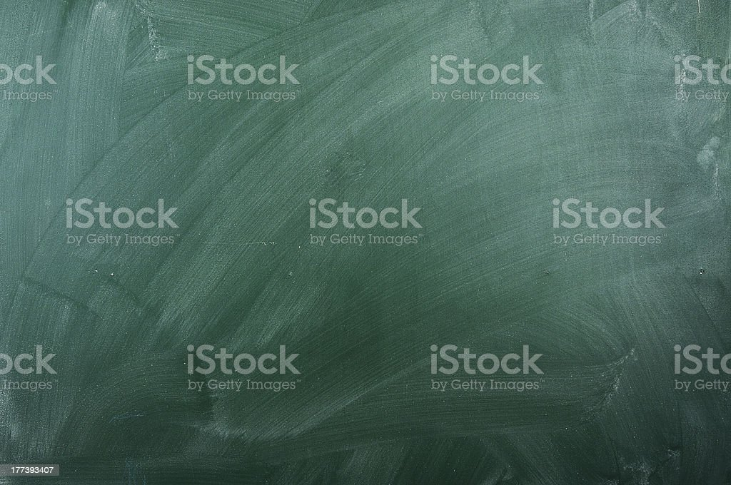 empty green chalkboard stock photo