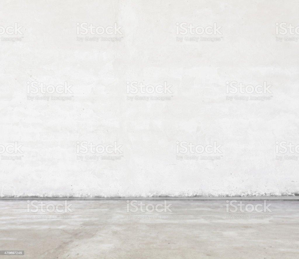 empty grey room stock photo