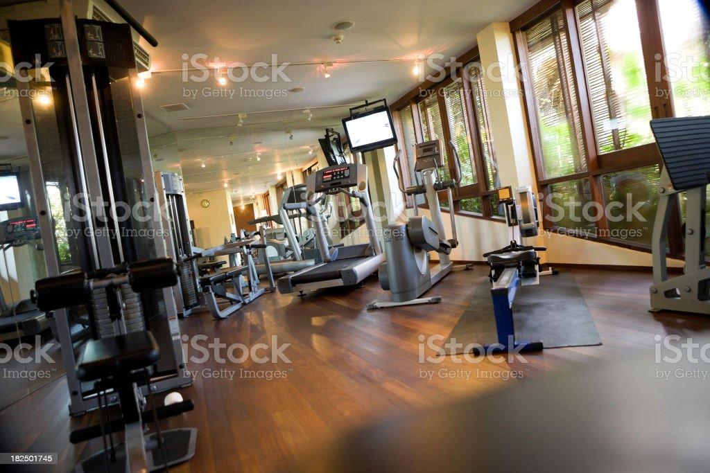 \'Empty gym, canon 1Ds mark III\'