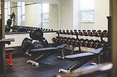 Empty Gym Space