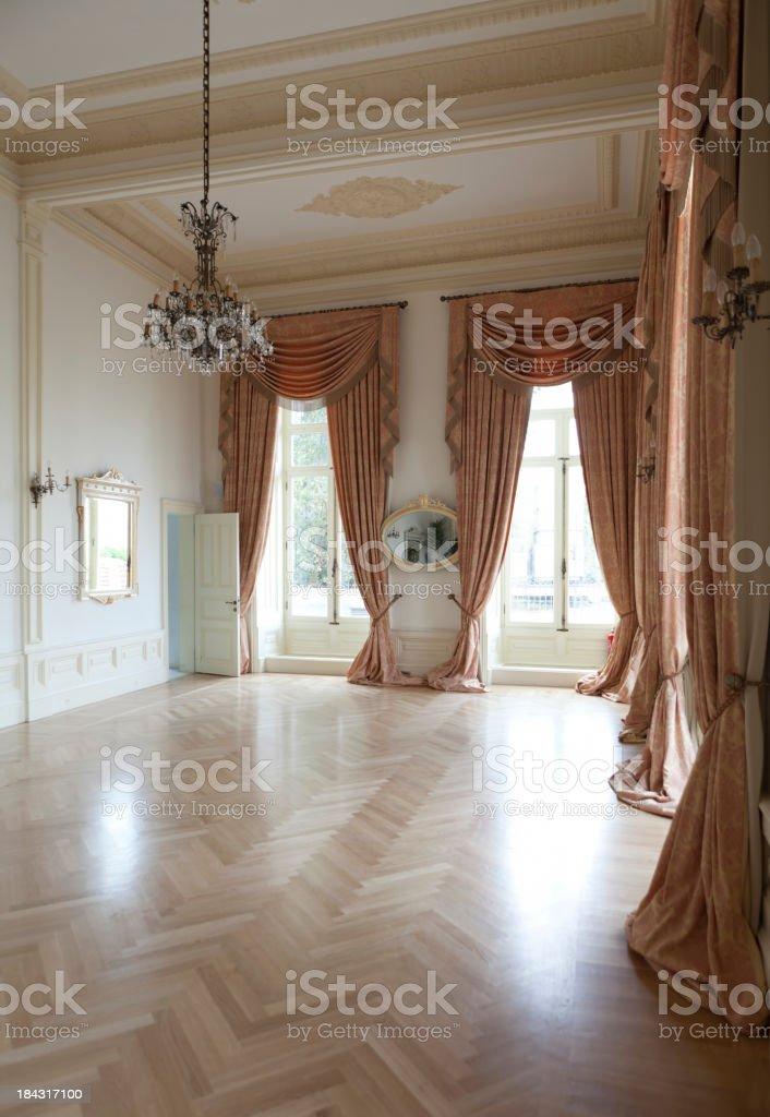 empty hall royalty-free stock photo