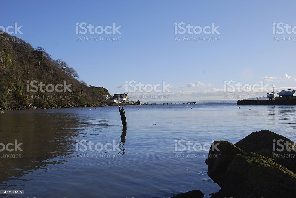 Empty Harbour royalty-free stock photo