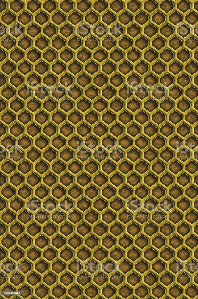 Empty Hive - Large royalty-free stock photo