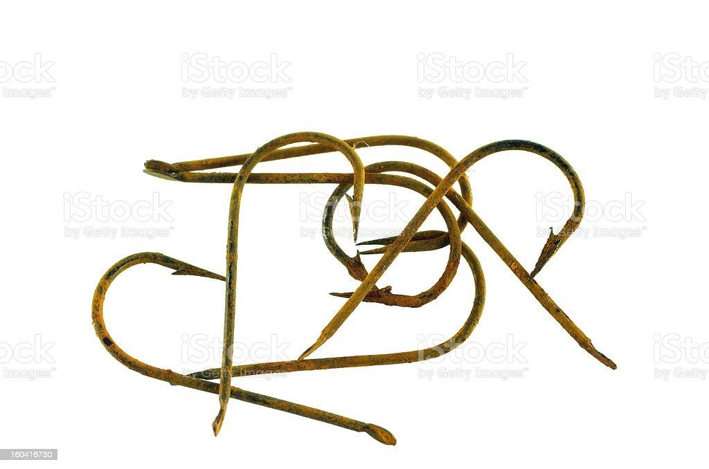 empty hooks royalty-free stock photo