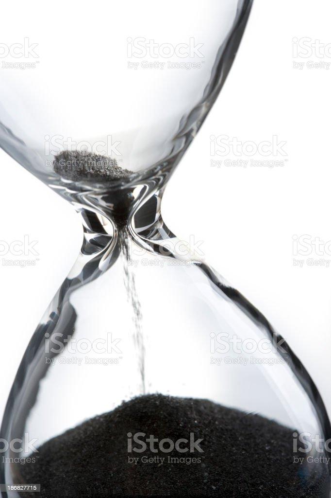 Empty Hourglass royalty-free stock photo