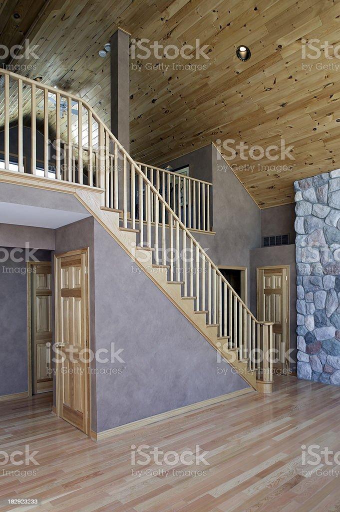 empty house interior royalty-free stock photo