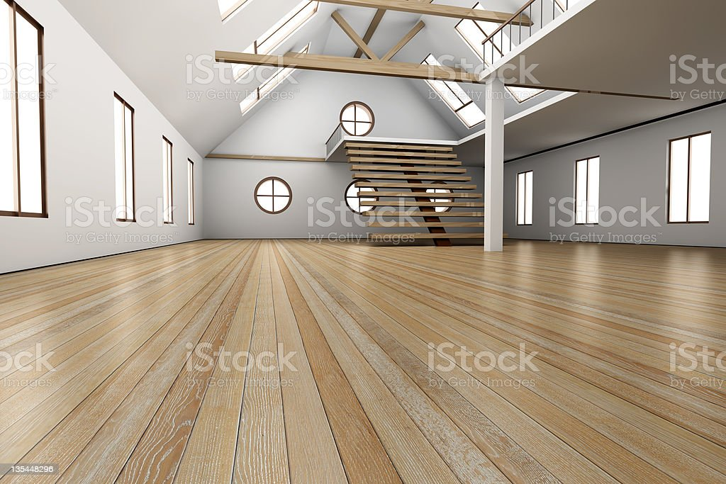 Empty House royalty-free stock photo