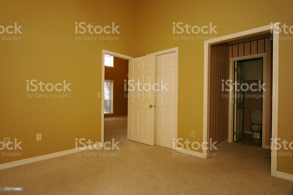 Empty House royalty-free stock photo