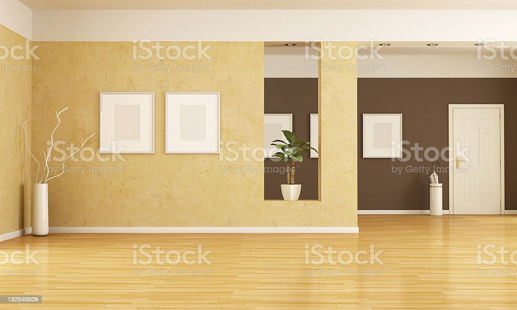 empty interior royalty-free stock photo