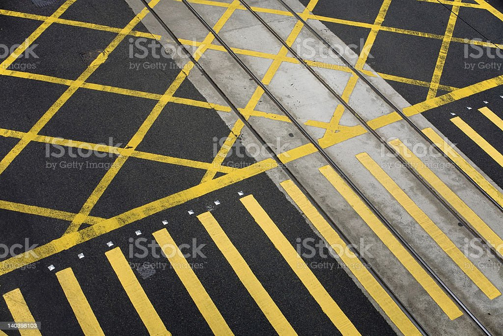 Empty Intersection royalty-free stock photo