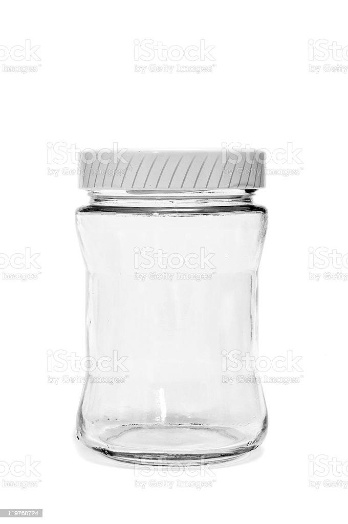 empty jar stock photo