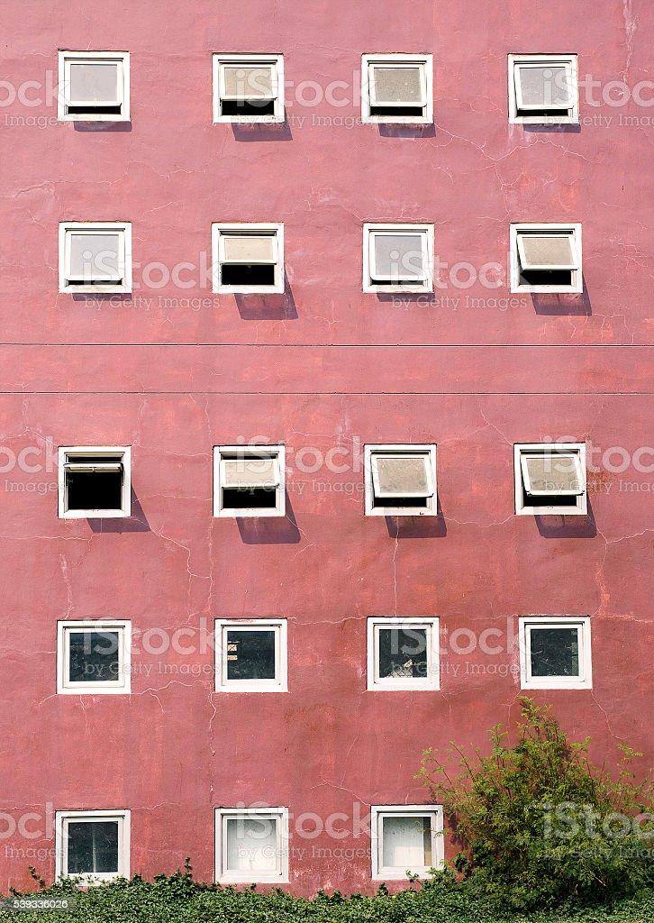 Vacío luz blanca habitación con ventana foto de stock libre de derechos