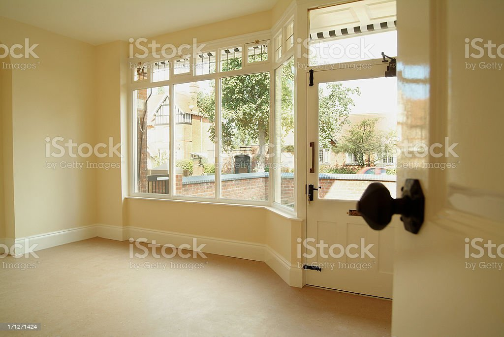 Empty living room royalty-free stock photo