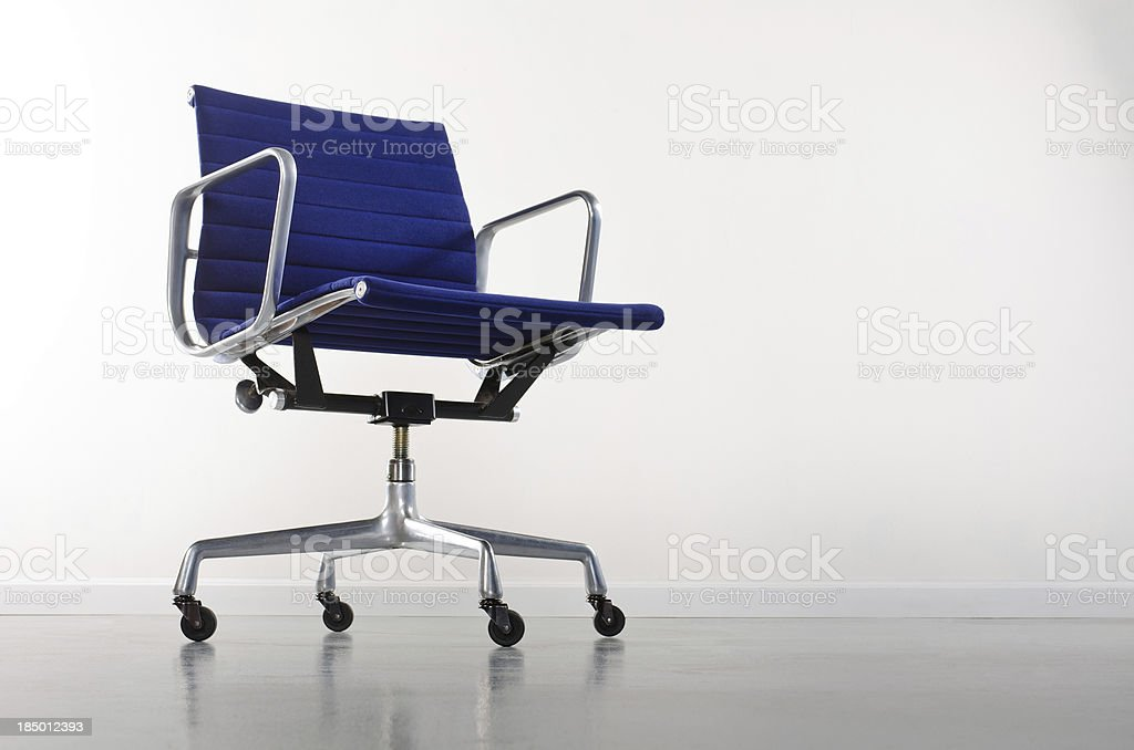 Empty Loft WIth Office Chair stock photo