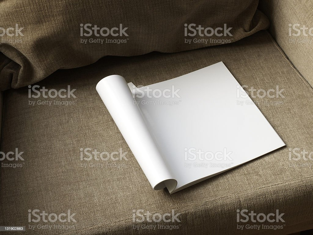 empty magazine royalty-free stock photo
