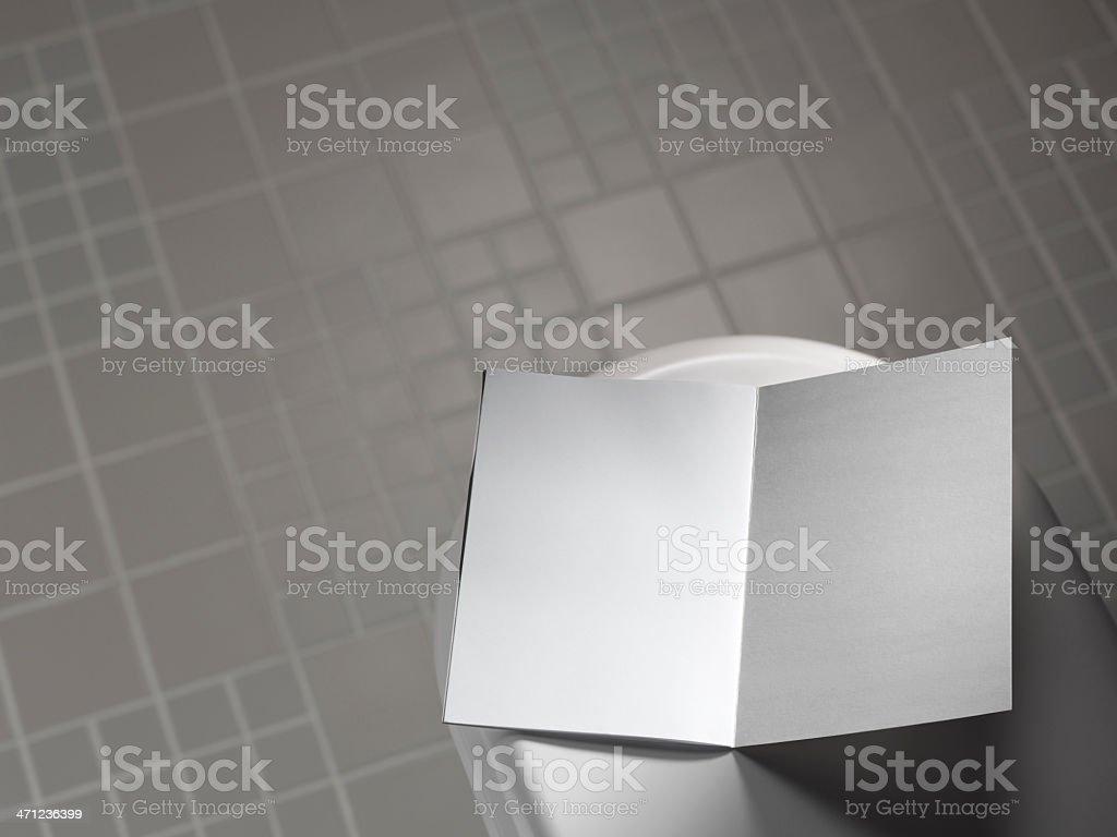 empty magazine stock photo