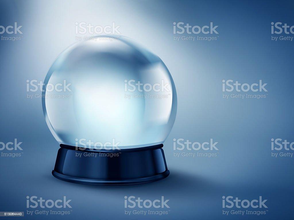 empty magic ball stock photo
