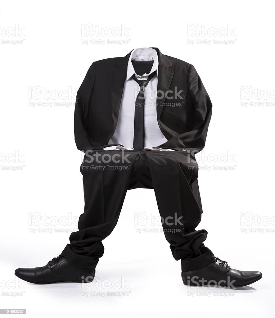empty man royalty-free stock photo