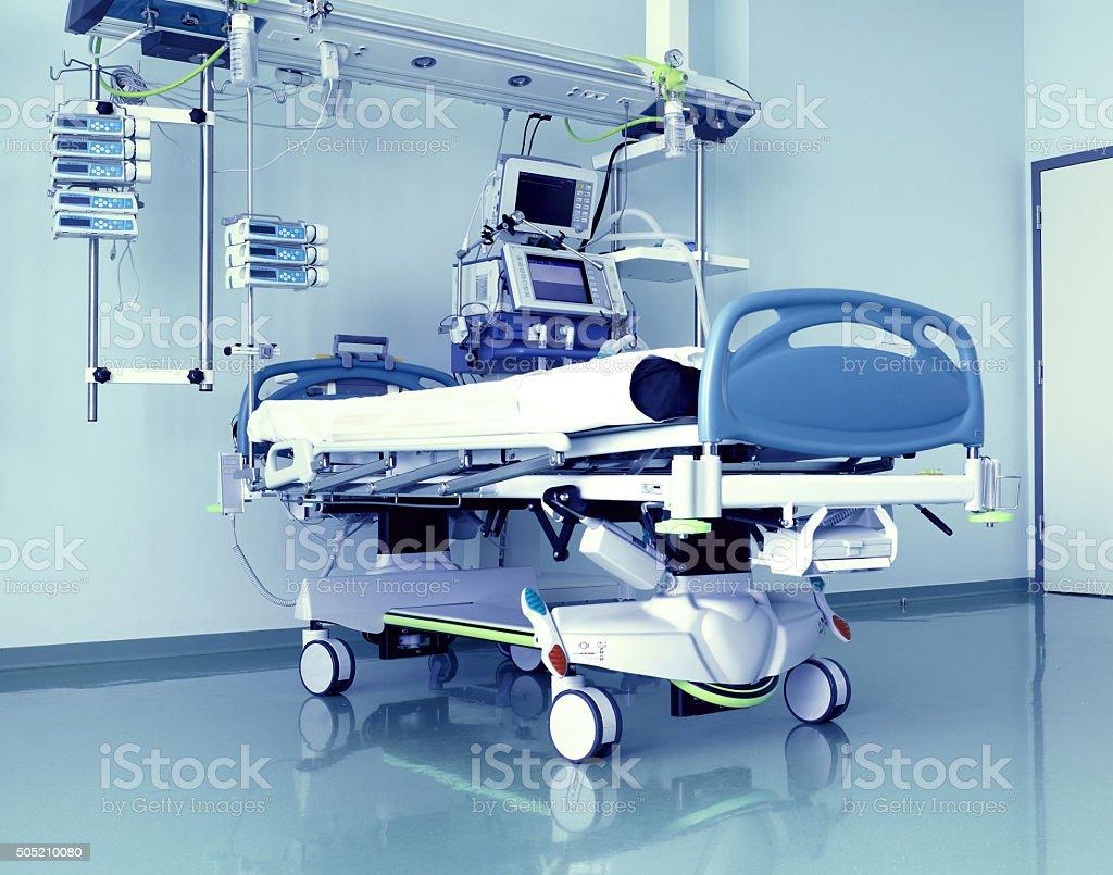 Empty medical room stock photo