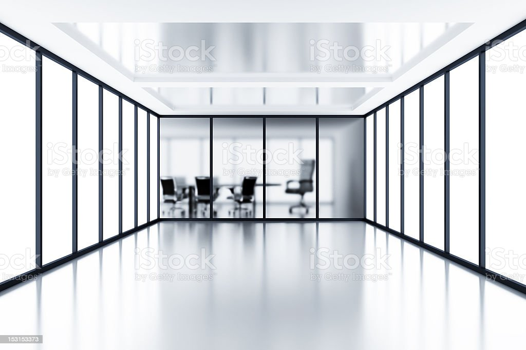 Empty meeting room royalty-free stock photo