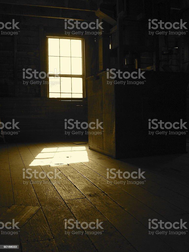 Empty mill stock photo