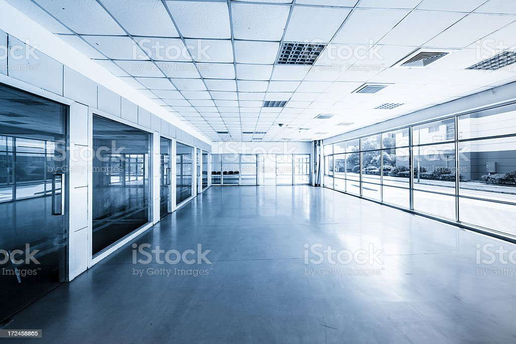 Empty modern office royalty-free stock photo
