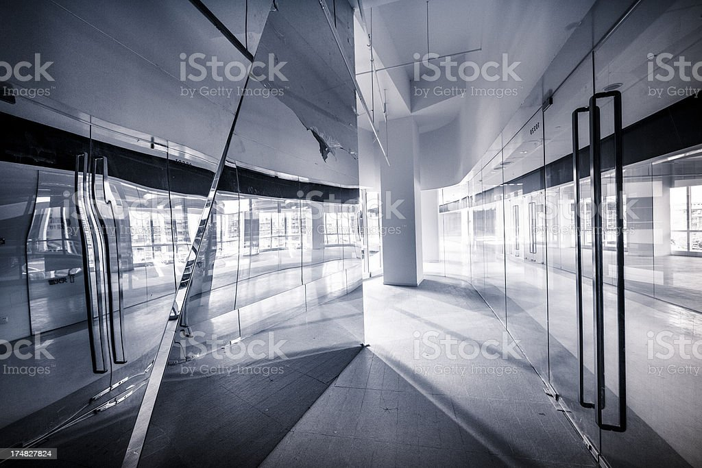 Empty modern office royalty-free stock photo