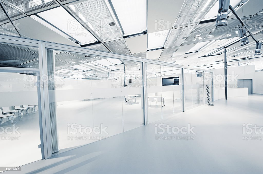Empty modern office stock photo
