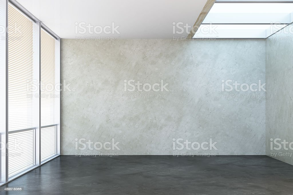 empty new office room stock photo