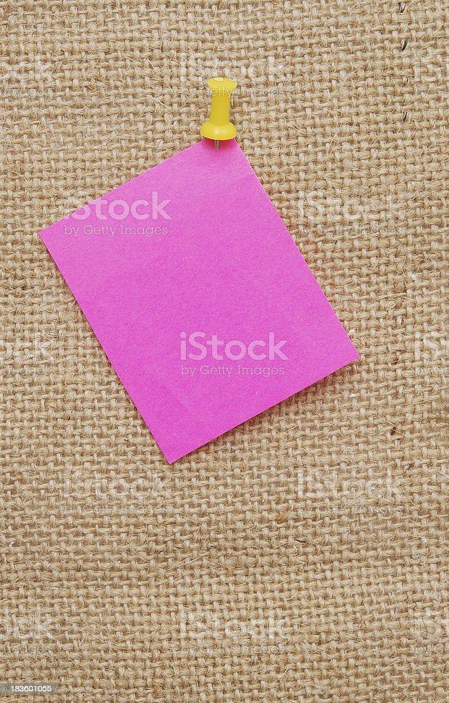 empty note royalty-free stock photo