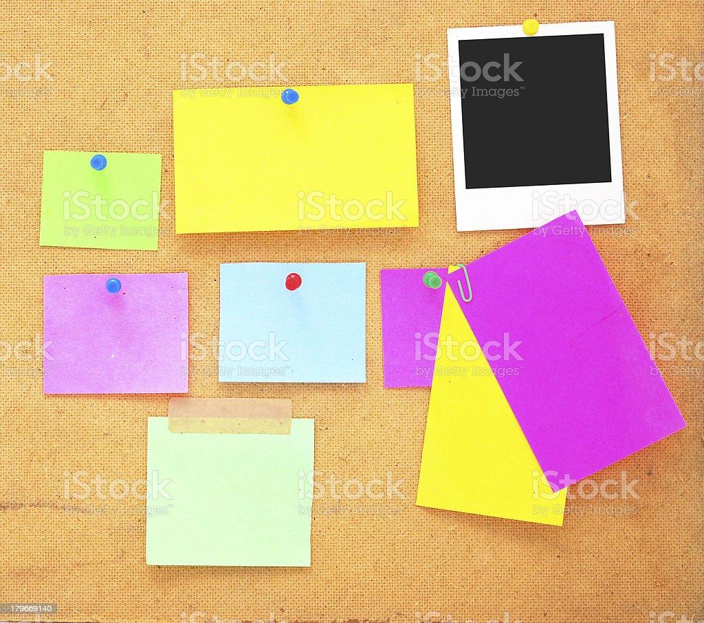 empty notes royalty-free stock photo