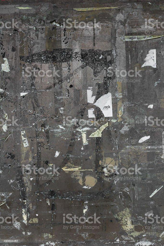Empty notice board stock photo