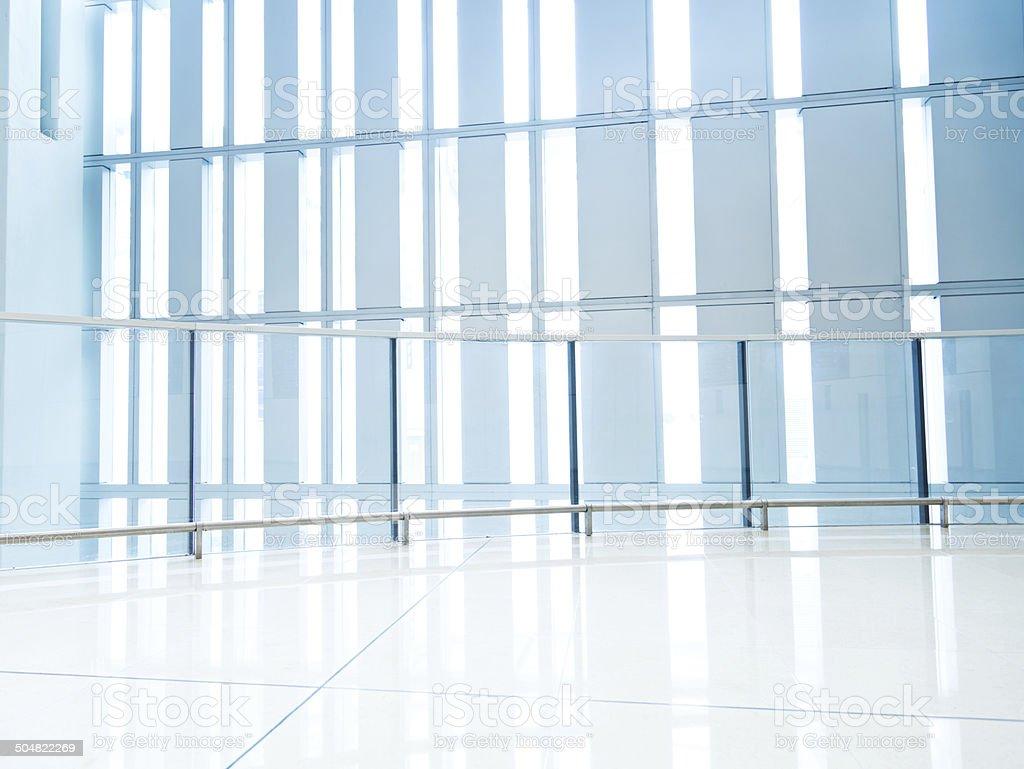 empty office corridor royalty-free stock photo
