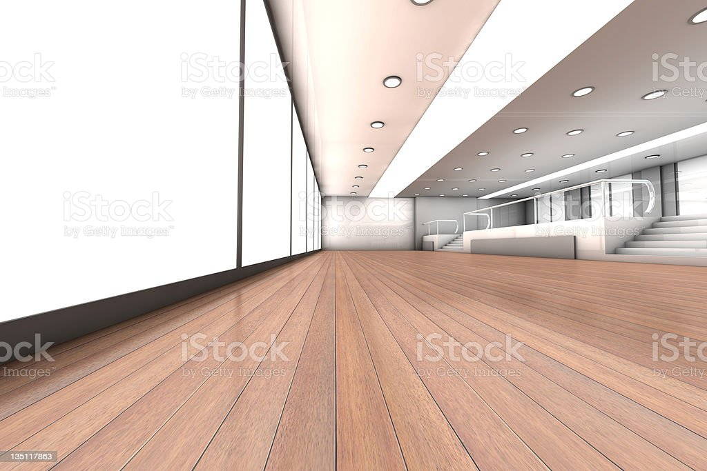 Empty Office royalty-free stock photo
