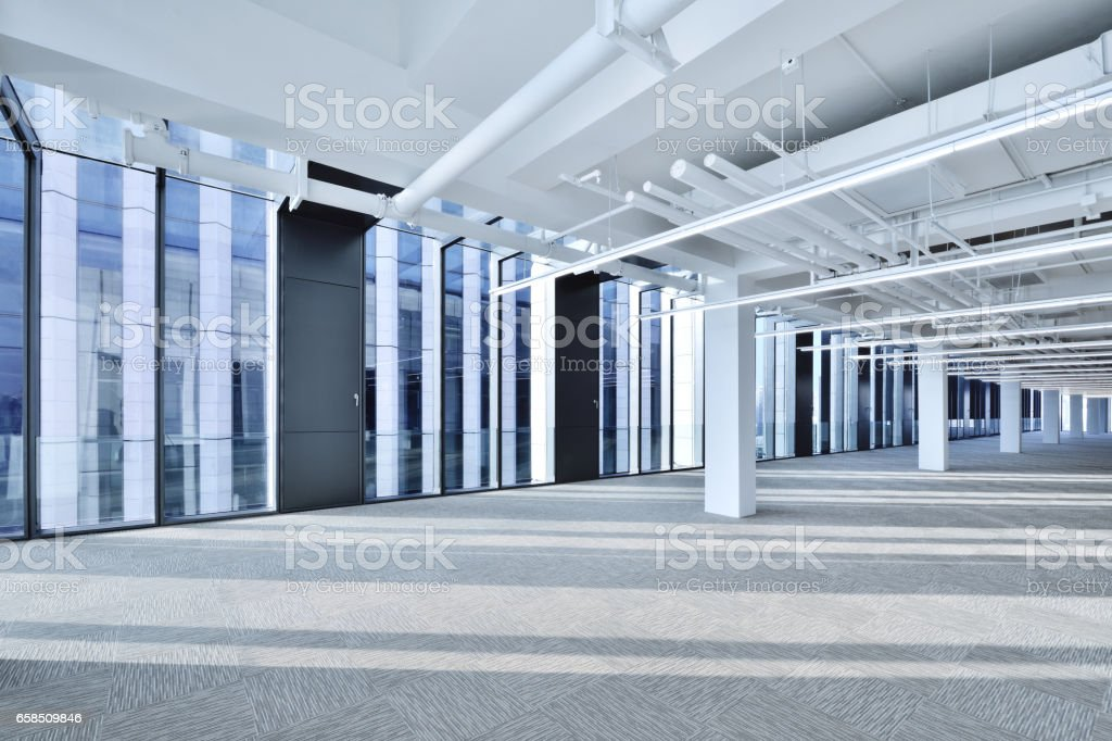 Empty Office stock photo