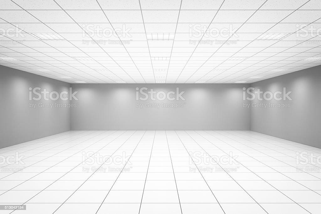 Empty Office Room stock photo