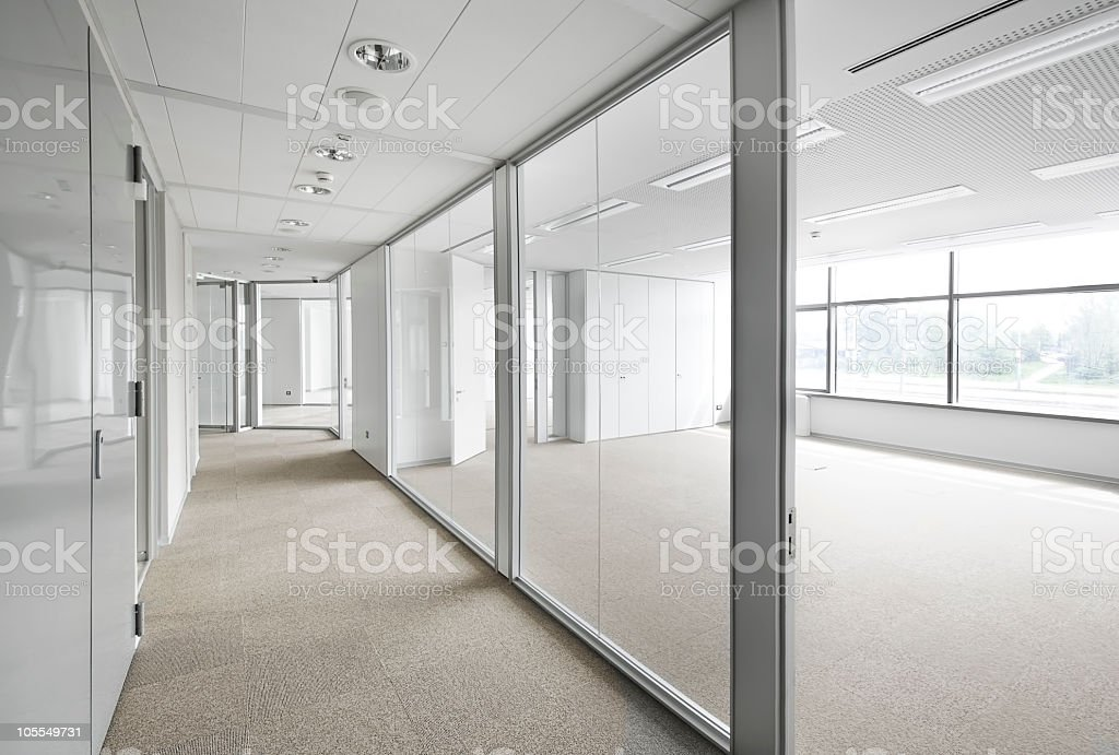 Empty office space. royalty-free stock photo