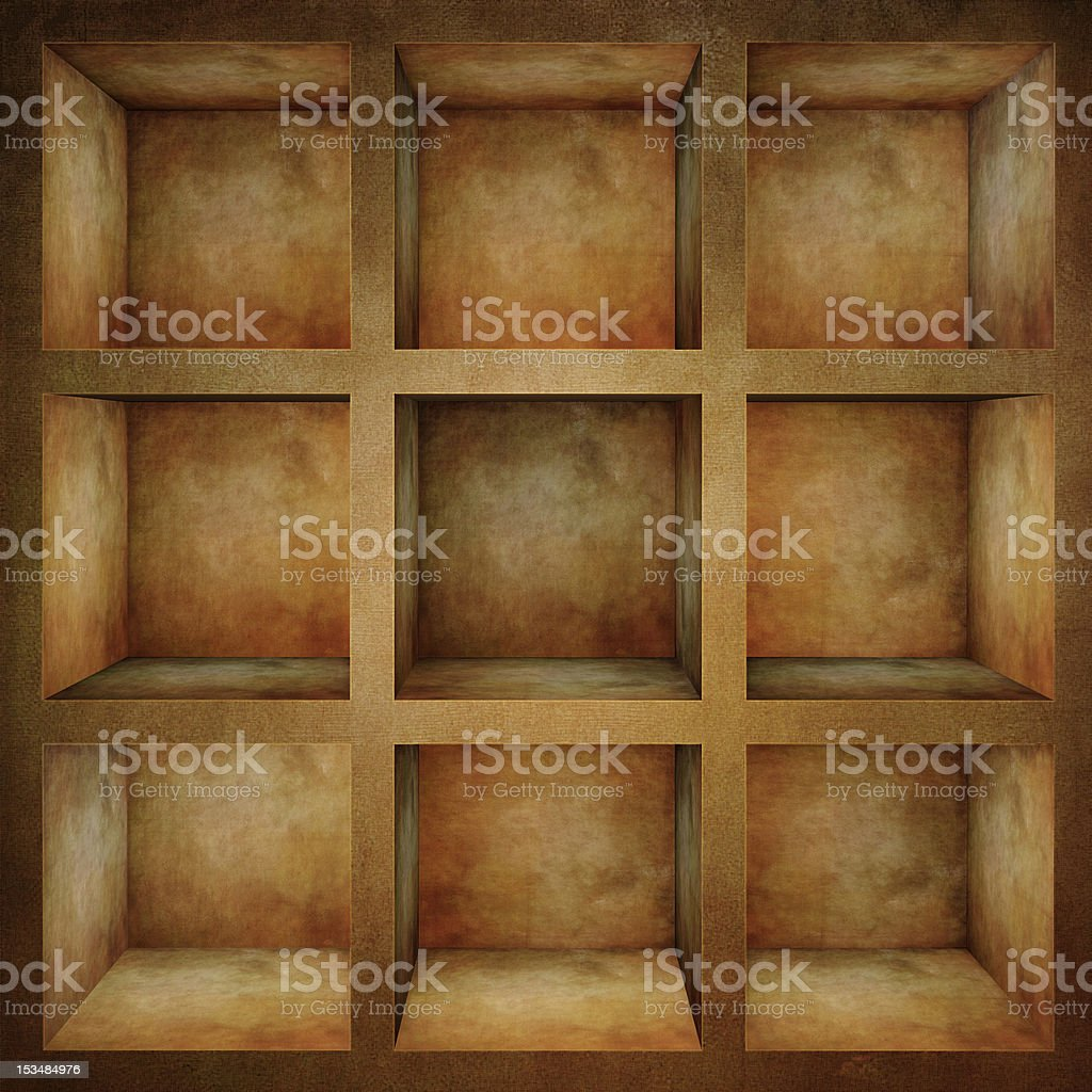 empty old rack royalty-free stock photo