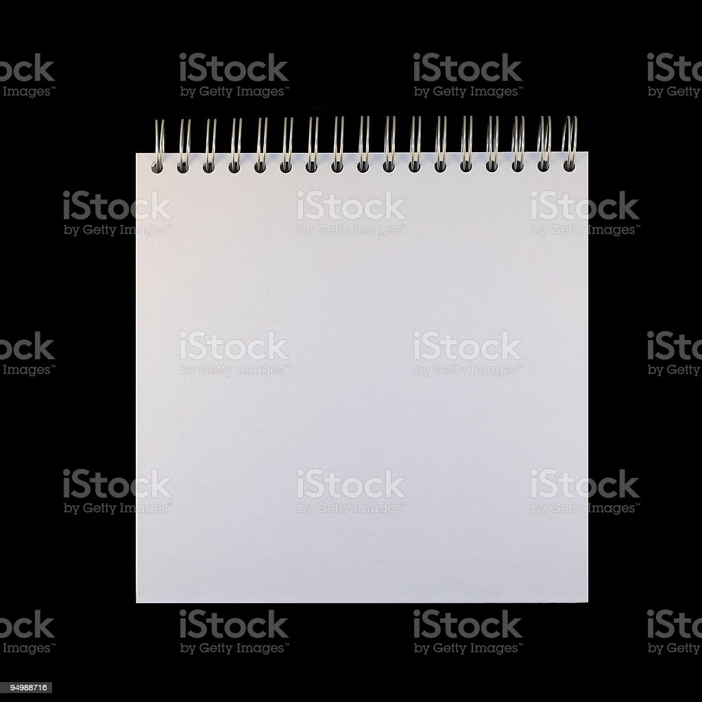 Empty page royalty-free stock photo